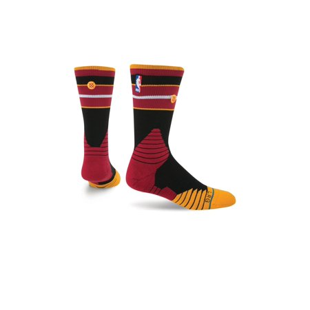 Stance Nba Miami Heat Core Crew Socks Size 9 12