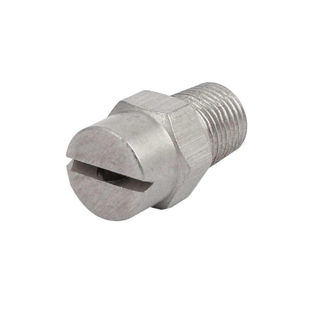 1/8BSP 2.4mm Orifice Spray Dia 95 Degree Stainless Steel Flat Fan Spray Tip - image 3 of 3