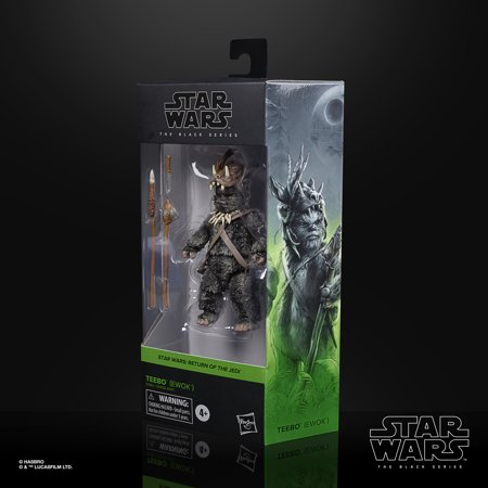 Star Wars the Black Series Teebo (Ewok) 6-inch-Scale Collectible Toy Figure
