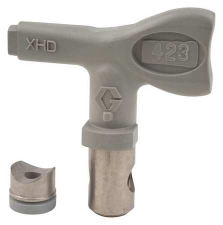 Airless Spray Gun Tip,Tip Size 0.023 In GRACO XHD423