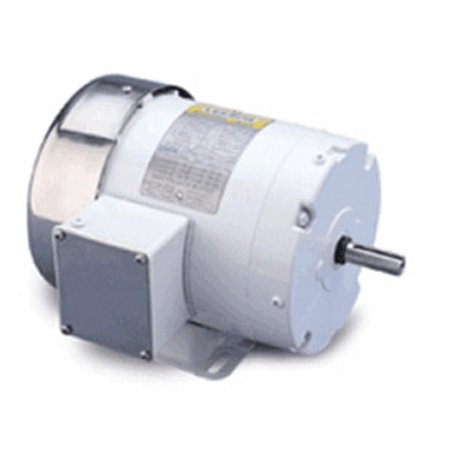213t Frame Rigid Base - 7.5 hp 1760 RPM 213T Frame 208-230/460V Wash Down Duty Leeson Electric Motor # 140819