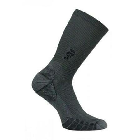 Travelsox Tsc 100 Compression Crew Socks  44  Grey   Medium