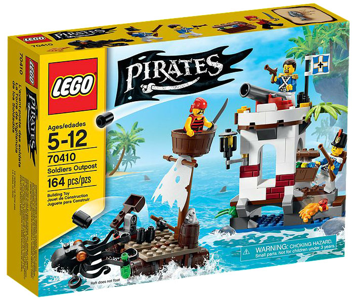 Pirates Soldiers Outpost Set Lego 70410 by LEGO Systems, Inc.