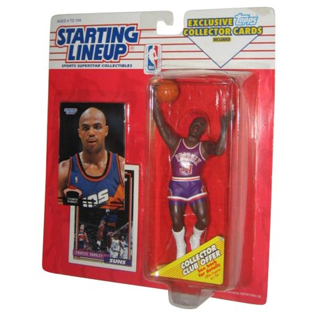 Nba Basketball Starting Lineup Charles Barkley Phoenic Suns Figure  1993  W  Cards