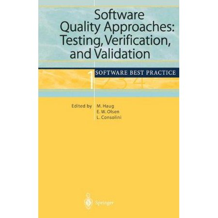 Software Quality Approaches: Testing, Verification, and Validation - image 1 of 1