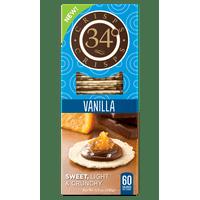 34 Degrees Crackers, Sweet Vanilla, 5.5 oz