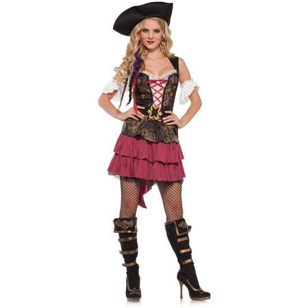 3pc Pirate Costume for Women