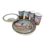 MotorHead Products MHP-WW-0007 Water Fowl 12 Piece Tableware Set