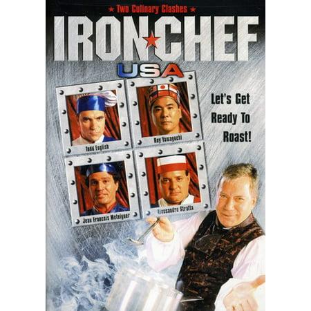 Iron Chef USA: Showdown in Las Vegas and Holiday Showdown (DVD) (Las Vegas Themed)