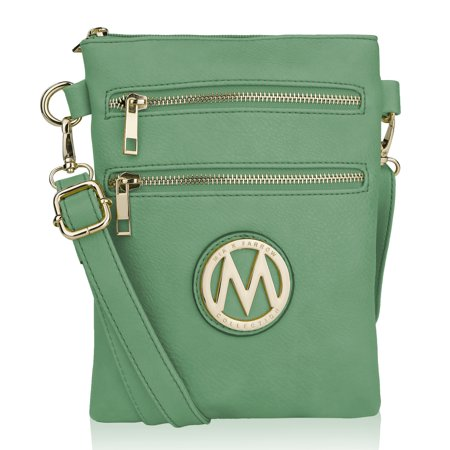 MKF Collection Medina Vegan Leather Fashion Crossbody by Mia K. Farrow