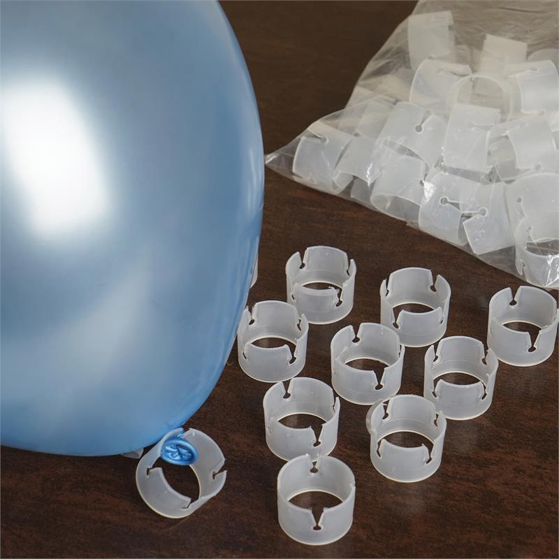 BalsaCircle 50 pcs Plastic Arch Clips for Balloons - Wedding Event Graduation Party Decorations Supplies