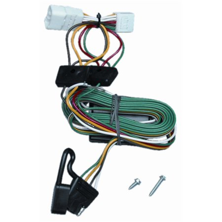 jeep cherokee trailer wiring plug jeep auto wiring diagram schematic vehicle to trailer wiring harness connector for 97 01 jeep on jeep cherokee trailer wiring plug