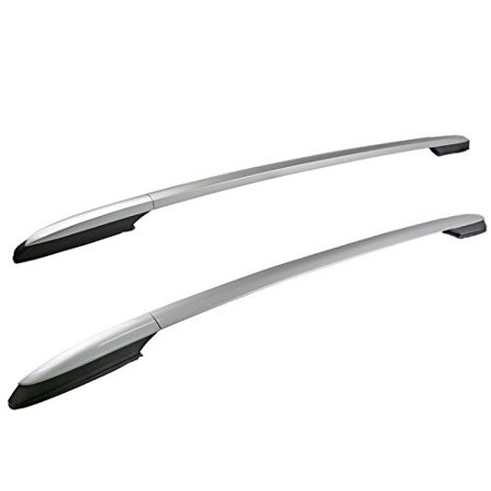 Toyota RAV4 Aluminum Factory Style Silver Top Roof Rack Side Rails