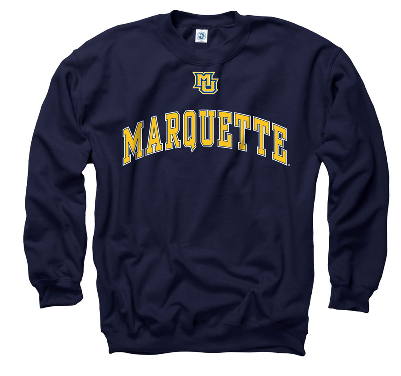 Marquette Golden Eagles Adult Icon Crewneck Sweatshirt - Navy
