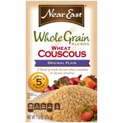 Near East Whole Grain Original Wheat Couscous 7.6 Ounce Paper Box