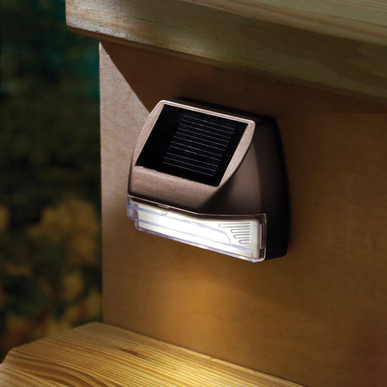 Moonrays Mini Rectangle Solar Deck Light
