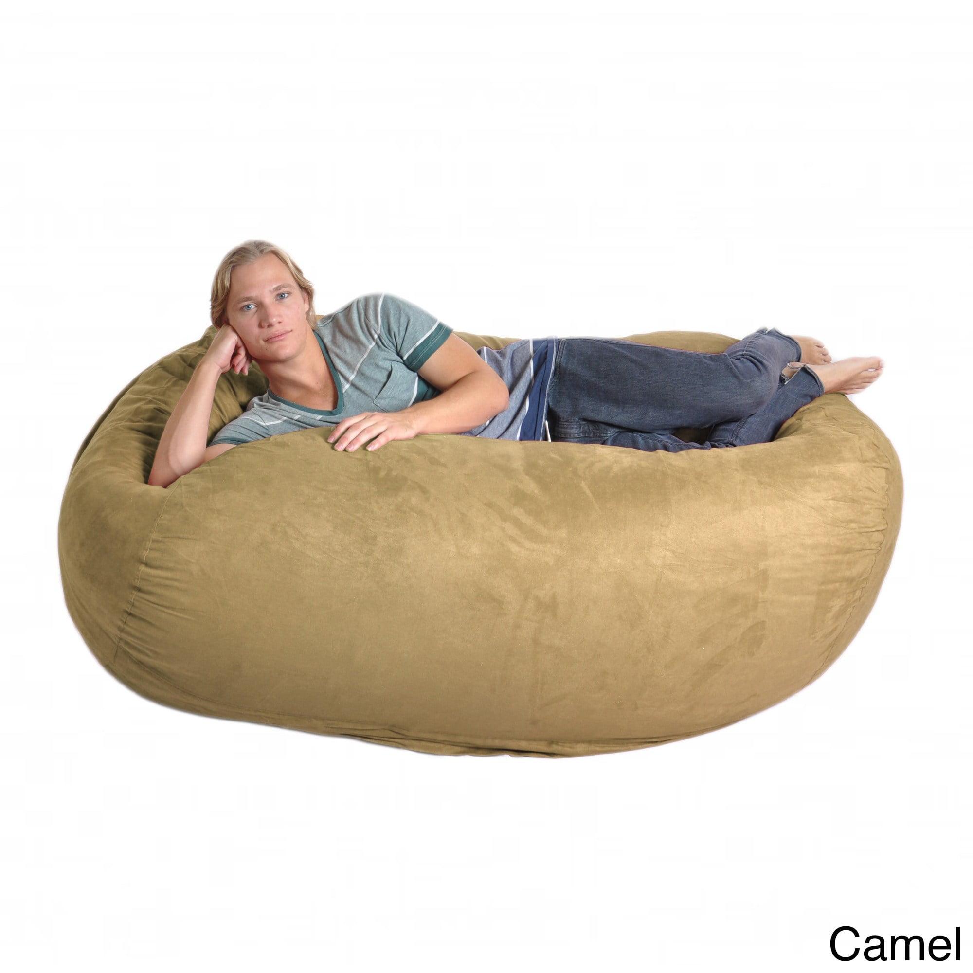 Slacker Sack  Oval 6-foot Microfiber/ Foam Bean Bag