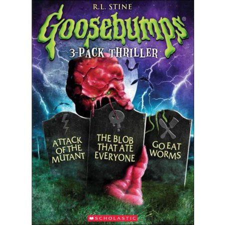 Goosebumps: Attack Of Mutant / Blob That Ate Everyone / Go Eat Worms