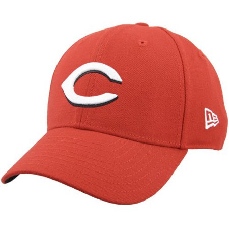 04345e86e636f8 Cincinnati Reds New Era Youth The League 9Forty Adjustable Hat - Red - No  Size - Walmart.com