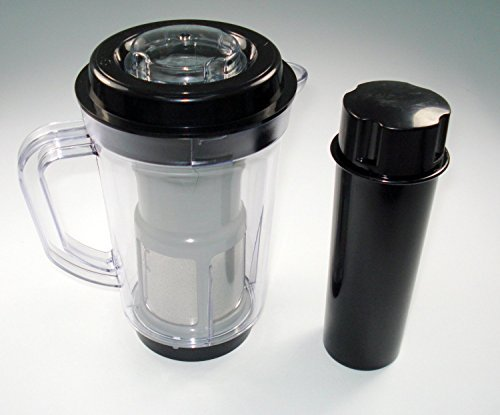 ProSource Juicer Attachment Pitcher Pusher Compatible with Original Magic Bullet Blender for