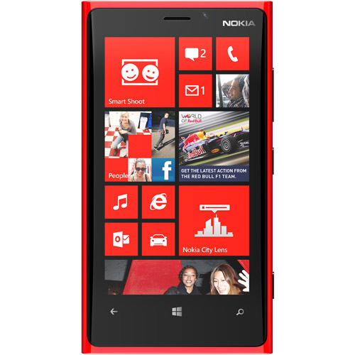 Nokia Lumia 920 GSM Phone, Red (Unlocked)