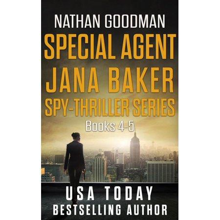 The Special Agent Jana Baker Spy-Thriller Series (Books 4-5) - eBook (Special Baker)