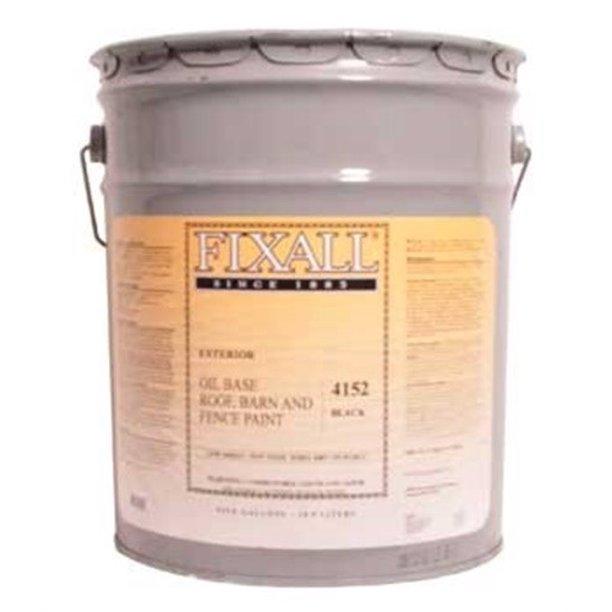 Paint,Roof/Barn Oil Black 5gl - Walmart.com - Walmart.com