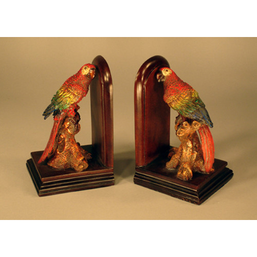 Judith Edwards Designs Parrot Book Ends