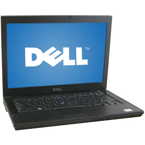 "Refurbished Dell Black 14"" E6400 Laptop PC with Intel Core 2 Duo Processor and Windows 7 Home Premium"