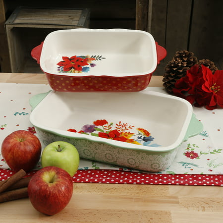 The Pioneer Woman Frost 2-Piece Bakeware Set
