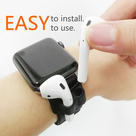 Bluetooth Earphone Fixed Band Shock Resistant Silicone Holder for Apple AirPods