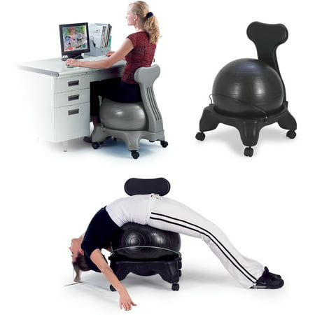 Sivan Health   Fitness Balance Ball Chair