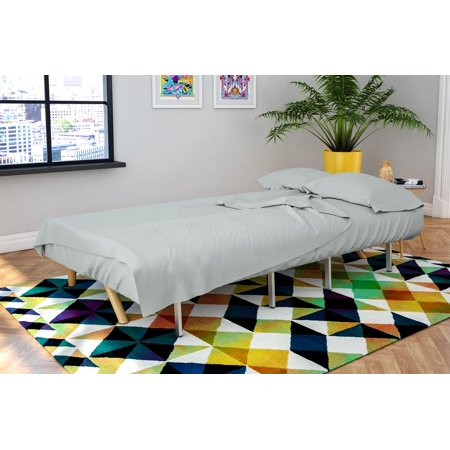 Novogratz Futon Twin Sleeper Sofa 4 Piece Brushed Microfiber Sheet Set Multiple Colors