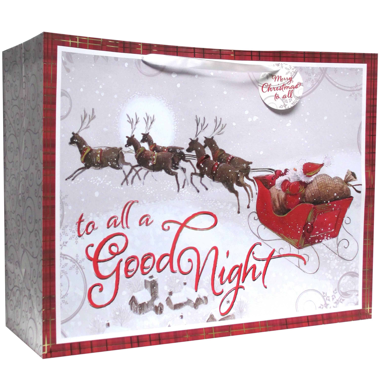 Christmas Super Jumbo Vogue Gift Bag, All a Good Night - Walmart.com