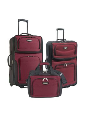 21e38f61dc95 Product Image Amsterdam 3-Piece Rolling Luggage Set