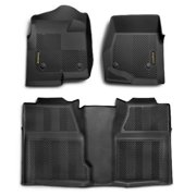 Goodyear 150016 Front, Rear and Cargo Bundle Floor Liner - Black, 2013-2014 Ford Escape