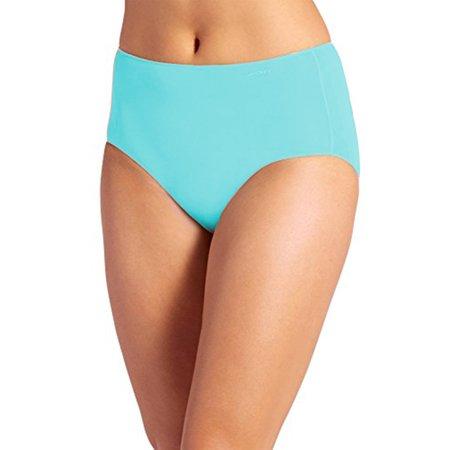 066ebe467226 Jockey - Jockey Women's Underwear No Panty Line Promise Tactel Hip Brief,  Turquoise, 6 - Walmart.com