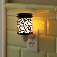 Better Homes & Gardens Botanical Glow Wall Accent Scented Wax Warmer
