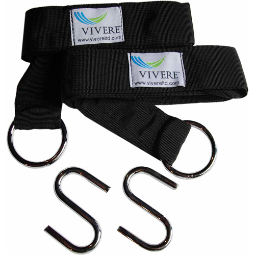 Vivere Eco-Friendly Hammock Tree Straps, 2-Pack