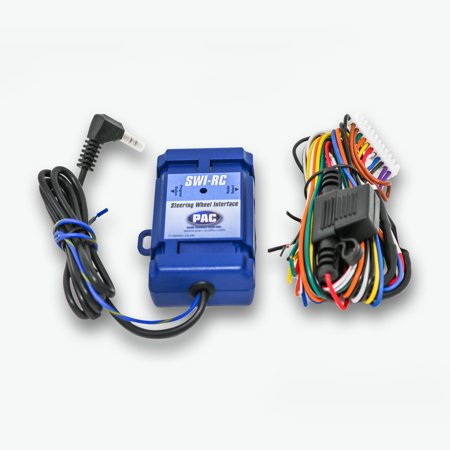 PAC Audio SWI-RC Steering Wheel Control Interface for Alpine, JVC, Clarion,  Kenwood, Pioneer, Sony Radios and More