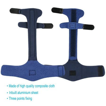 Garosa Adjustable Finger Brace, Adjustable Finger Splint Metacarpal Fracture Healing Mallet Finger Correcting Support Brace - image 1 de 8