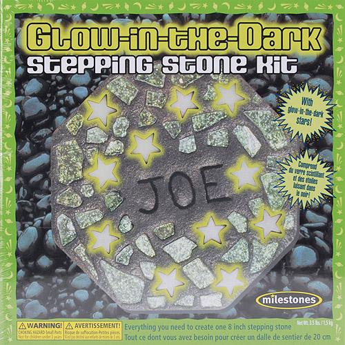 Milestones Glow-in-the-Dark Stepping-Stone Kit