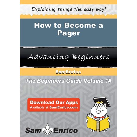 How to Become a Pager - eBook (Visual Pager)