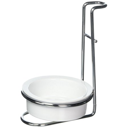 7494 Stainless Steel Ceramic Upright Stovetop Drip Catcher Spoon RestVertical rest design By Norpro