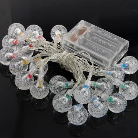 3M 20 LED Crystal Ball Fairy String Light Christmas Garden Garland  - image 5 of 5
