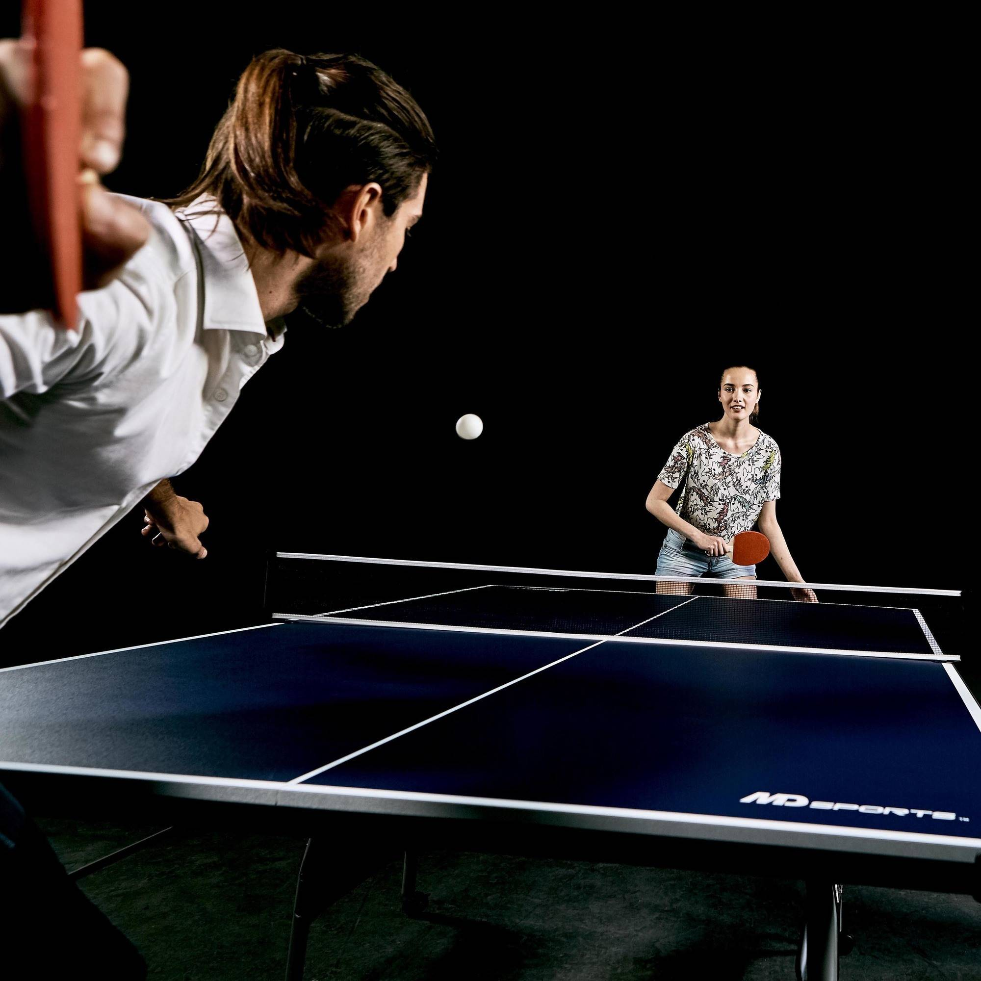 Wonderful MD Sports Official Size Table Tennis Table