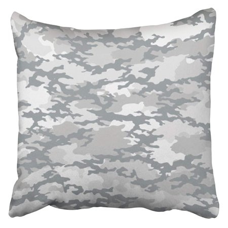 ARHOME Green Camo Fashionable Camouflage Pattern Military Modern Combat Commando Defence Pillow Case Cushion Cover 16x16