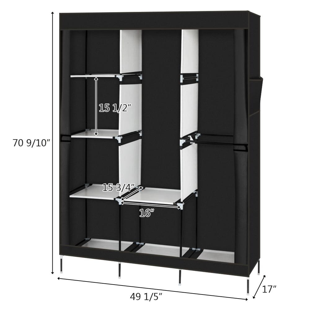 closet organizer for bedroom wardrobe rack for home