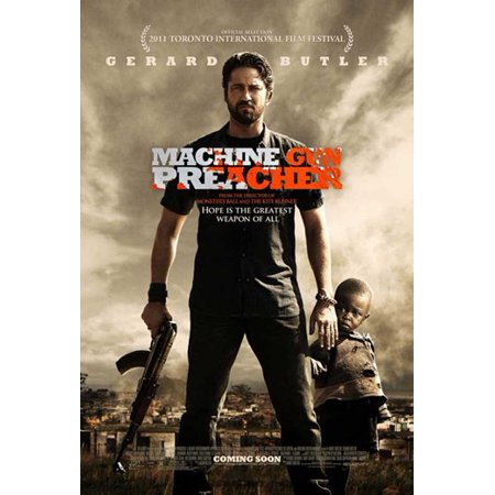 Machine Gun Preacher Movie Poster 11 X 17 Walmart Com