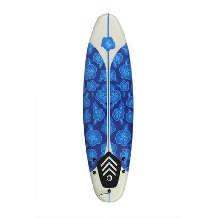 North Gear 6 ft Foam Surfboard Blue/White (Best Foam Surfboards 2019)